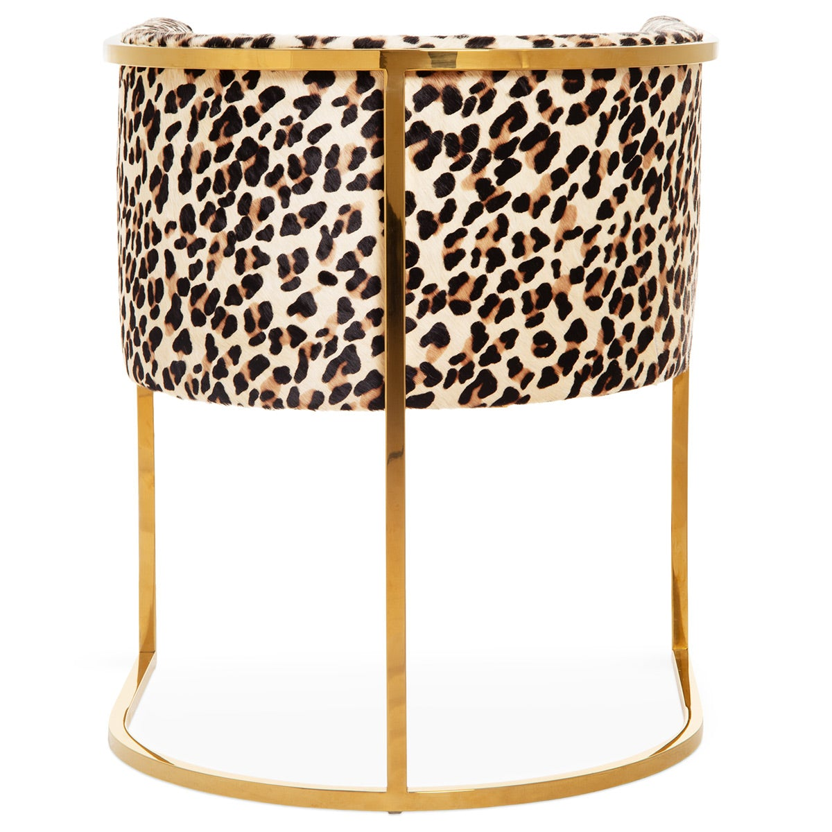 Lisbon Dining Chair   Modern Leopard Print On Cowhide   ModShop