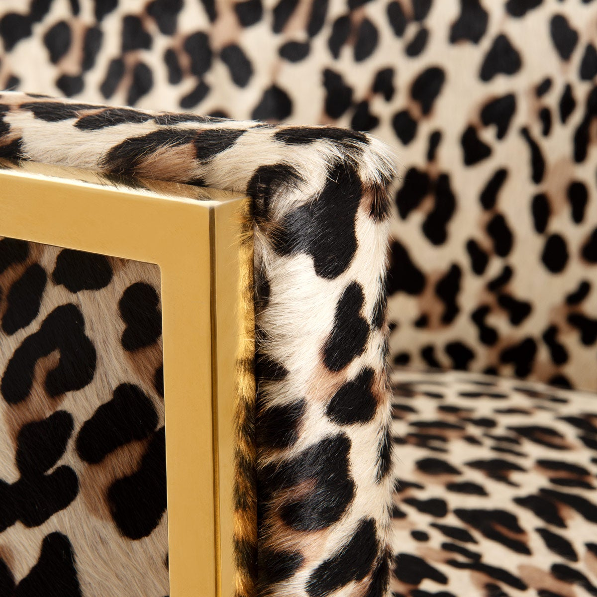 Fabulous Lisbon Dining Chair Modern Leopard Print On Cowhide Modshop Squirreltailoven Fun Painted Chair Ideas Images Squirreltailovenorg