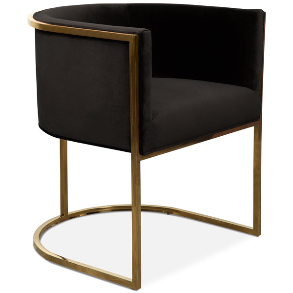 Lisbon Dining Chair in Velvet