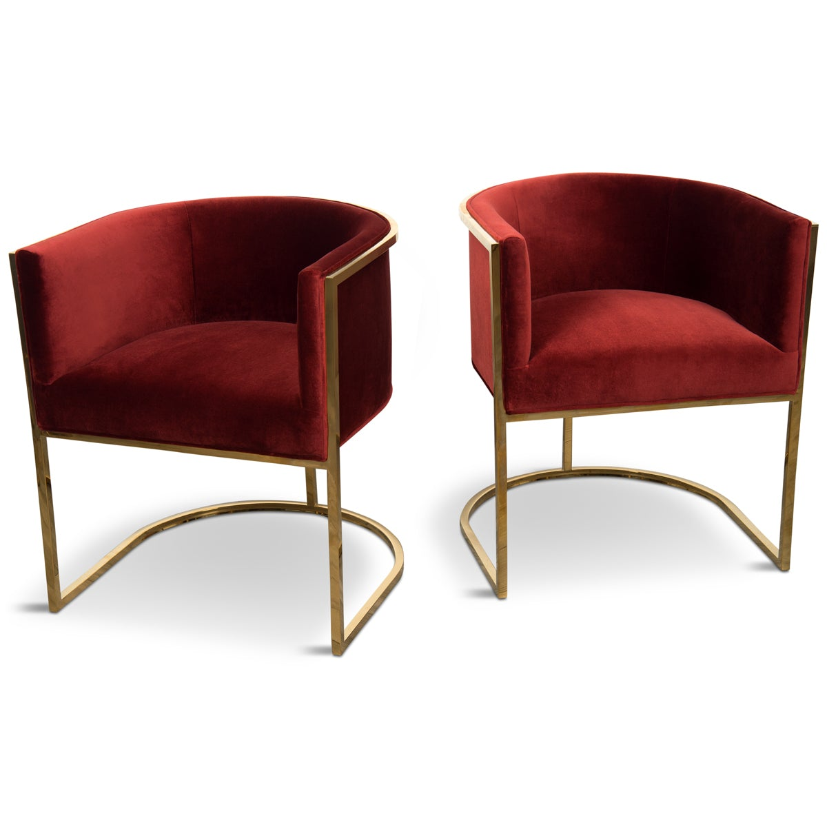 Lisbon Dining Chair Abstract Chair With Velvet Finish Modshop