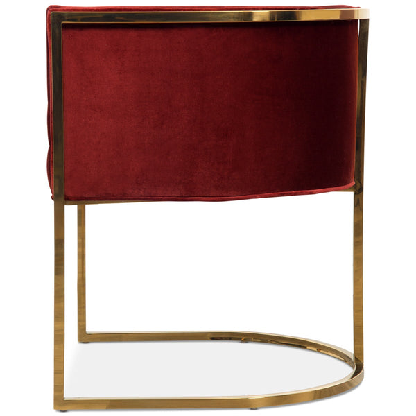 Lisbon Dining Chair in Velvet - ModShop1.com