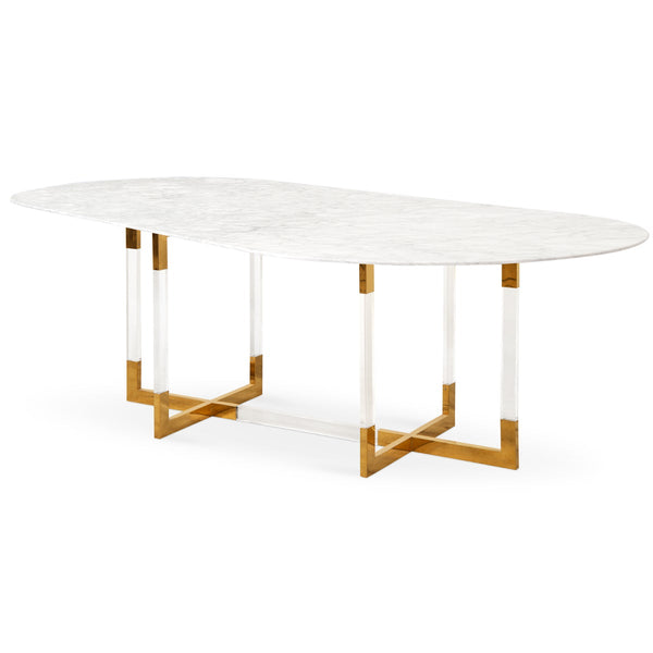 Lisbon Racetrack Dining Table - ModShop1.com