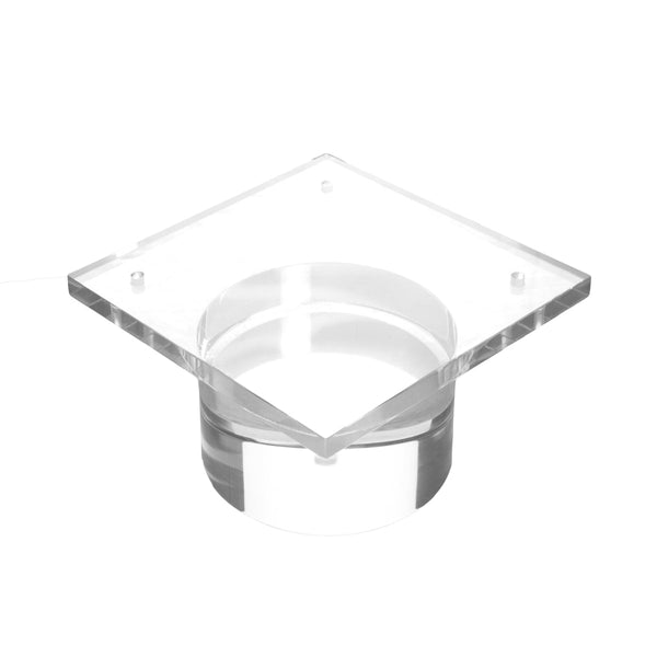 "2"" Lucite Round Block Leg  (Set of 4)"