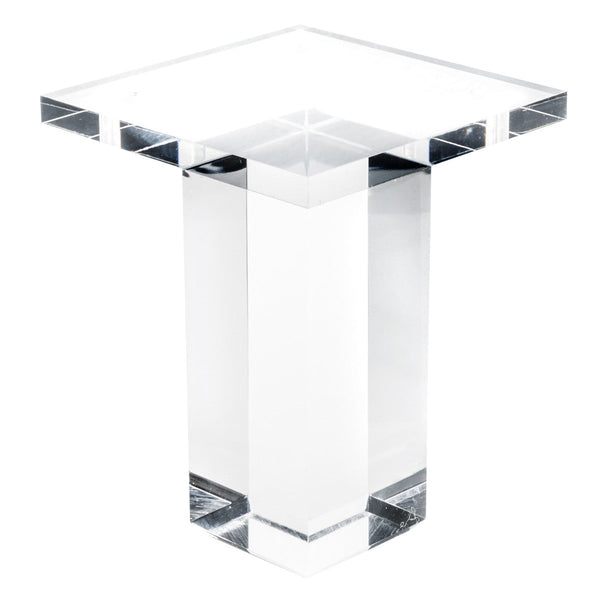 "4"" Straight Lucite Leg (Set of 4)"