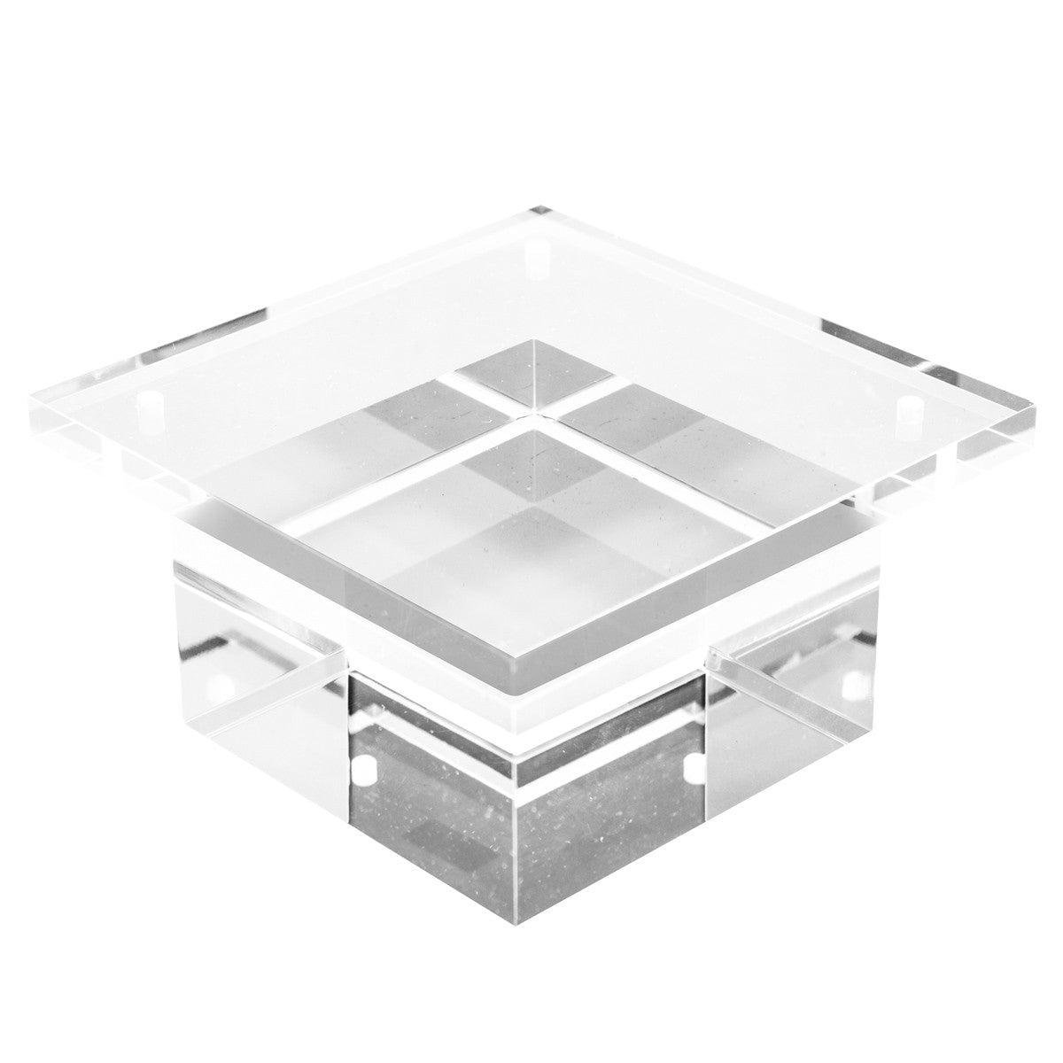 "2"" Lucite Block Leg  (Set of 4) - ModShop1.com"