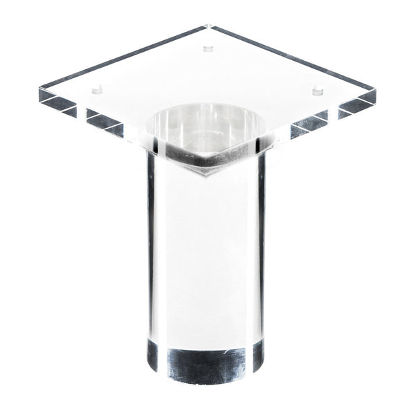 "4"" Round Lucite Leg (Set of 4)"