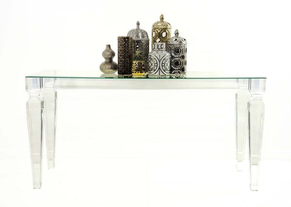 Lucite Console Table