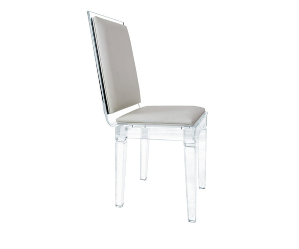 Palm Beach Lucite Chair