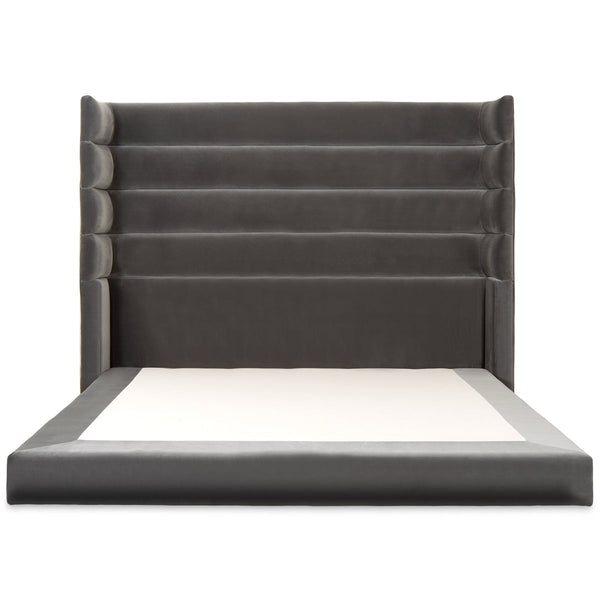 Madrid Bed in Velvet - ModShop1.com