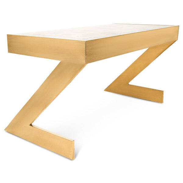 Manchester Desk with Brass Z Legs
