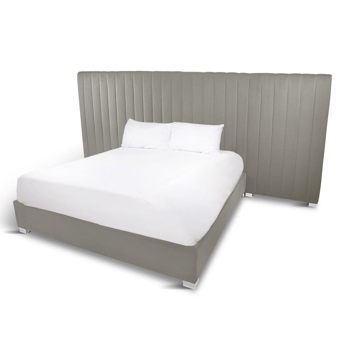 Manhattan Bed with Extended Headboard