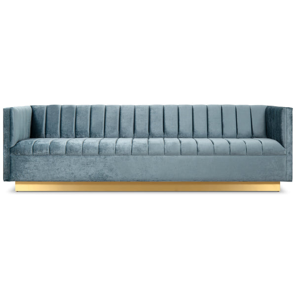 Manhattan Sofa with Wide Channel Tufting