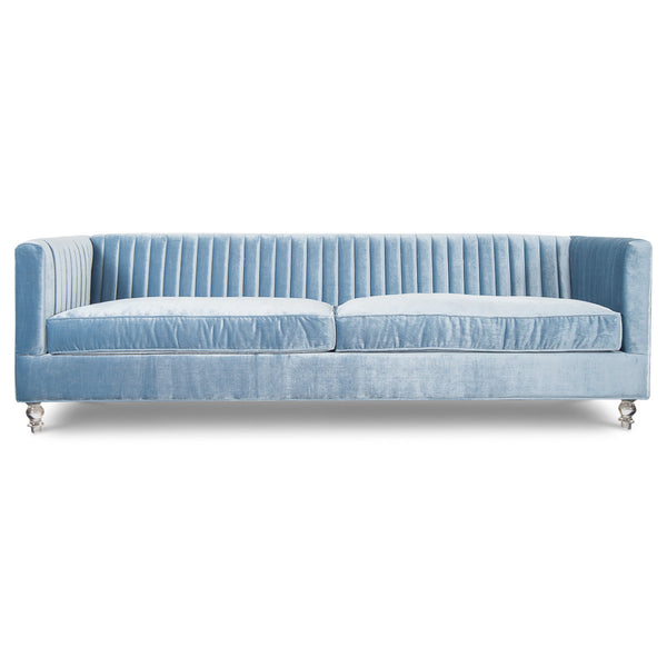 Manhattan Sofa in Trend Denim Velvet