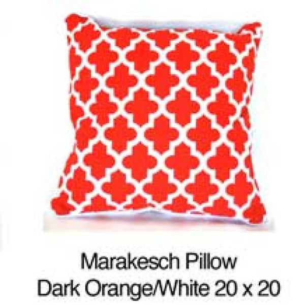 Marrakesh Orange / White