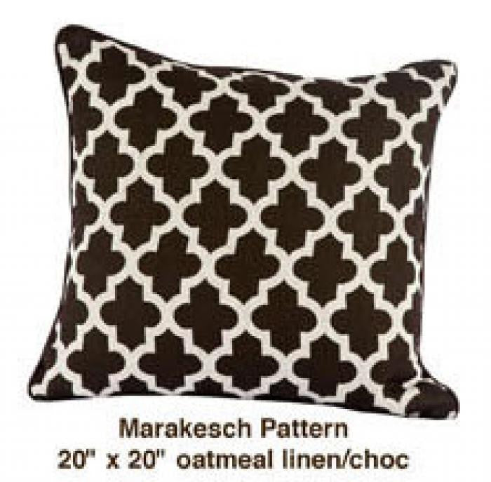 Marrakech Pattern Navy/Yellow/White - ModShop1.com