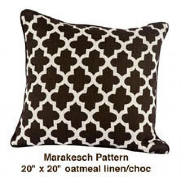 Marrakech Pattern Navy/Yellow/White