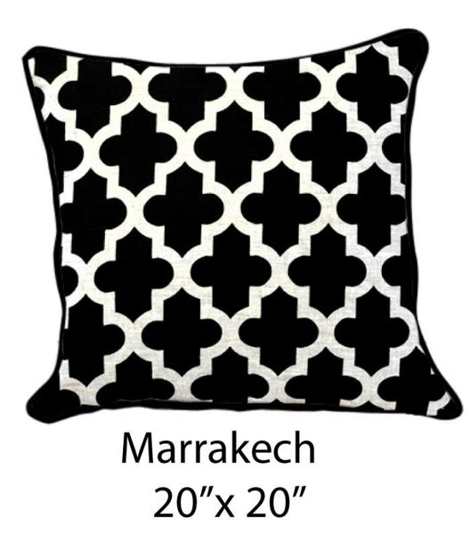 Marrakesh Black/White