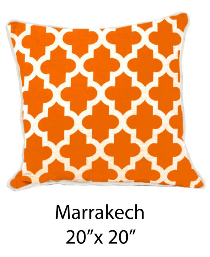 Marrakesh White/Orange - ModShop1.com