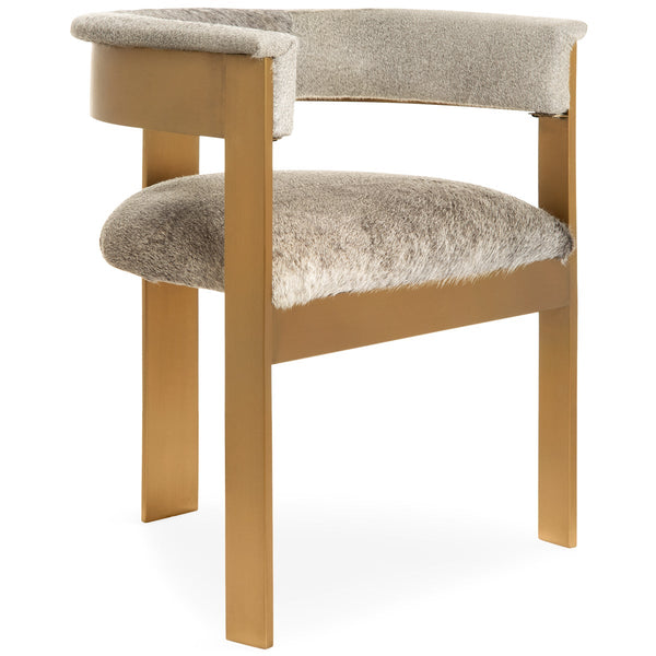 Marseille Dining Chair in Cowhide - ModShop1.com