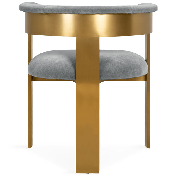 Marseille Dining Chair in Mohair - ModShop1.com