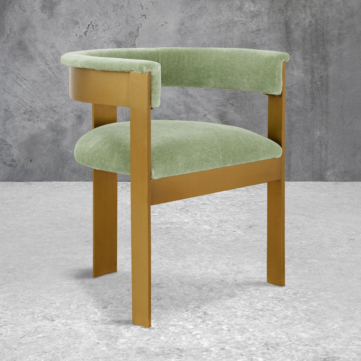 Marseille Dining Chair in Mohair