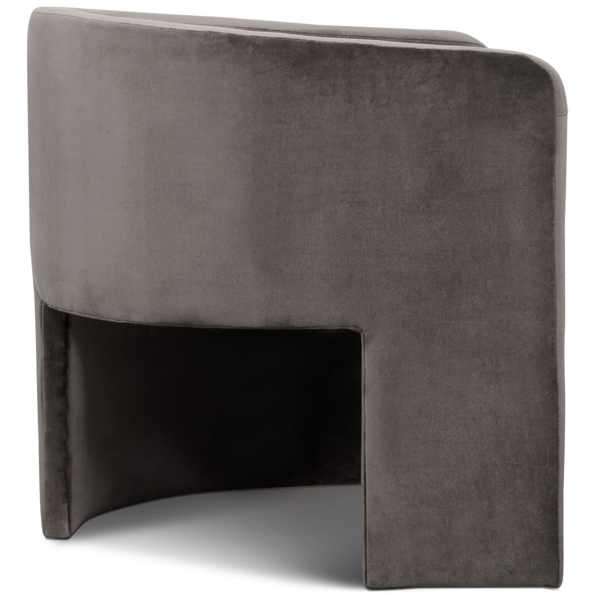 Martinique Chair in Velvet - ModShop1.com