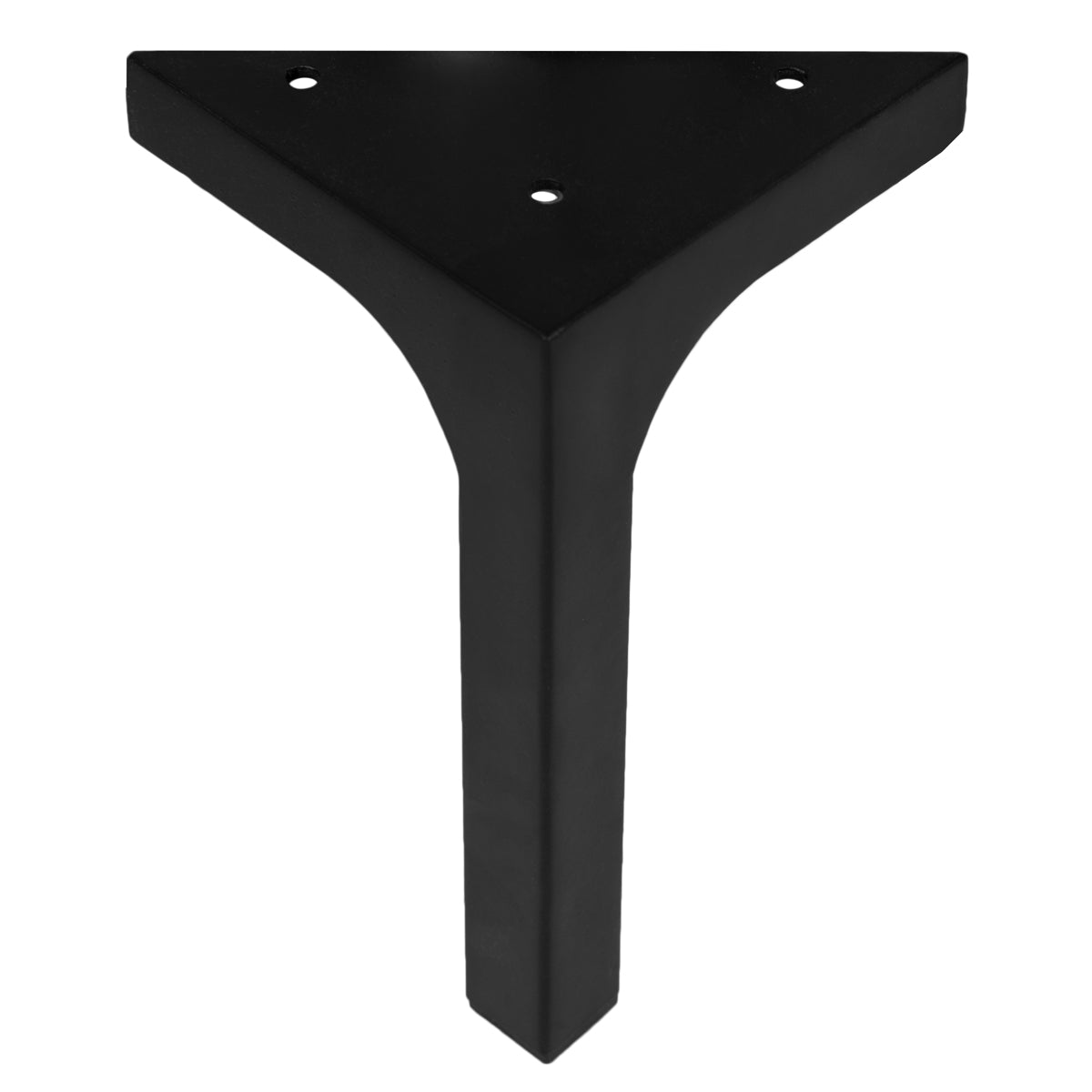 "7"" Matte Black Leg (Set of 4) - ModShop1.com"