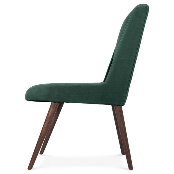 Mid Century Dining Chair in Velvet