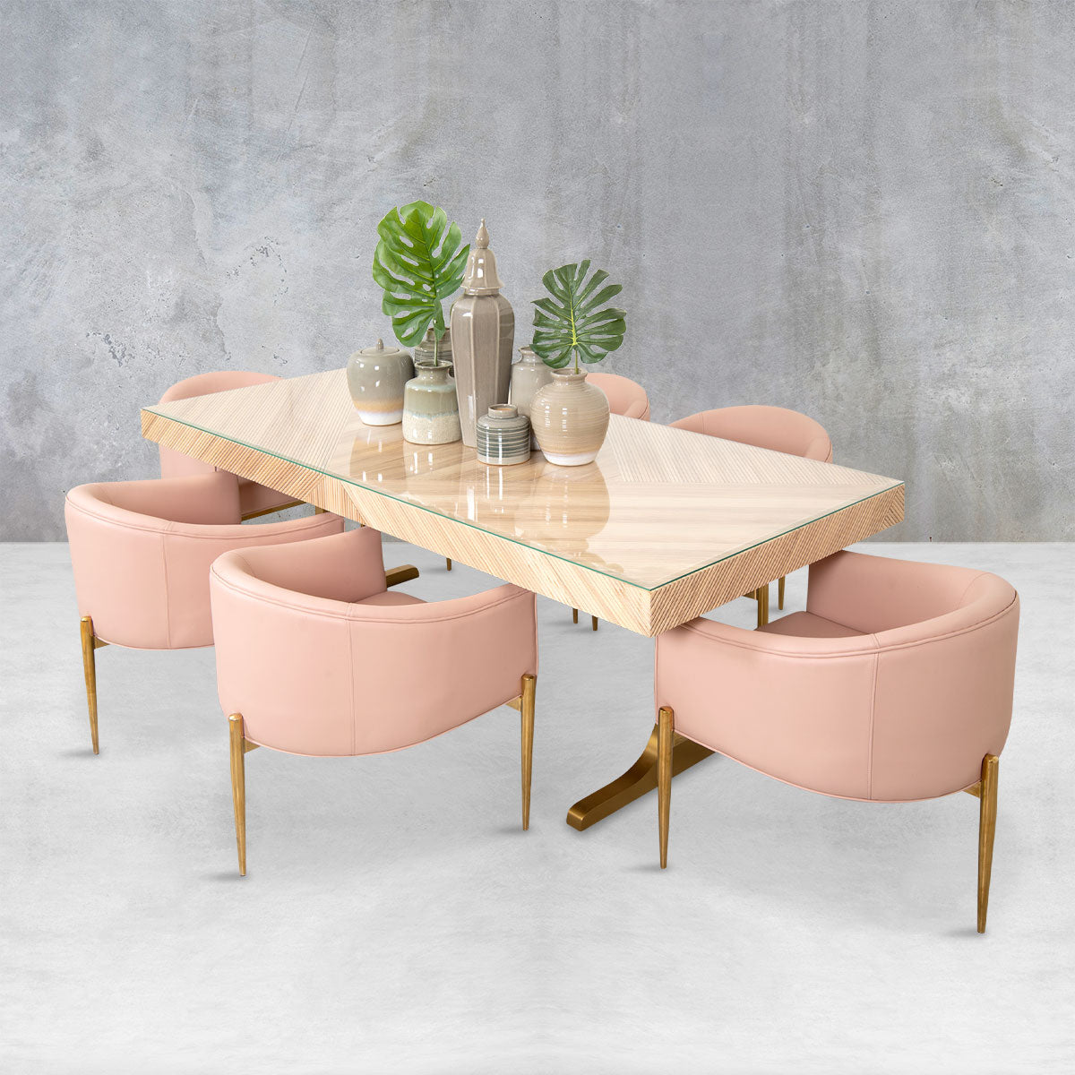 Milan Dining Table in Ash