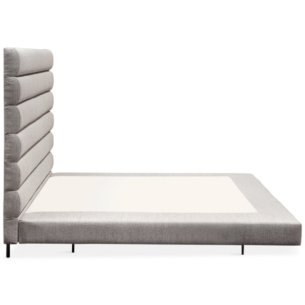 Milan Bed in Textured Fabric