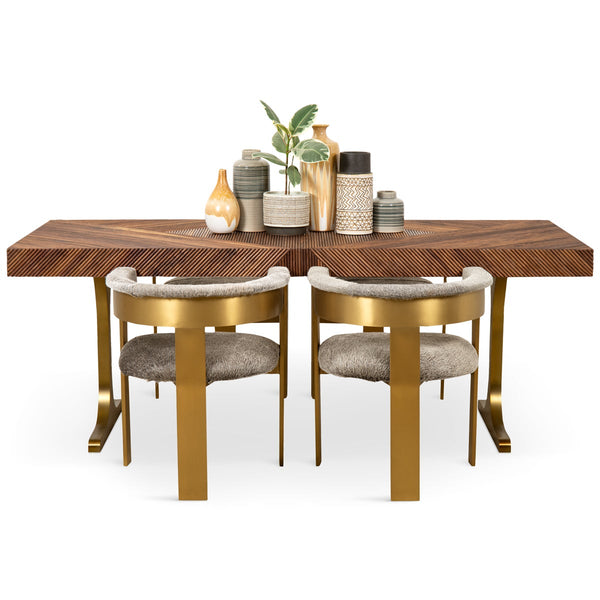 Milan Dining Table in Oiled Walnut - ModShop1.com