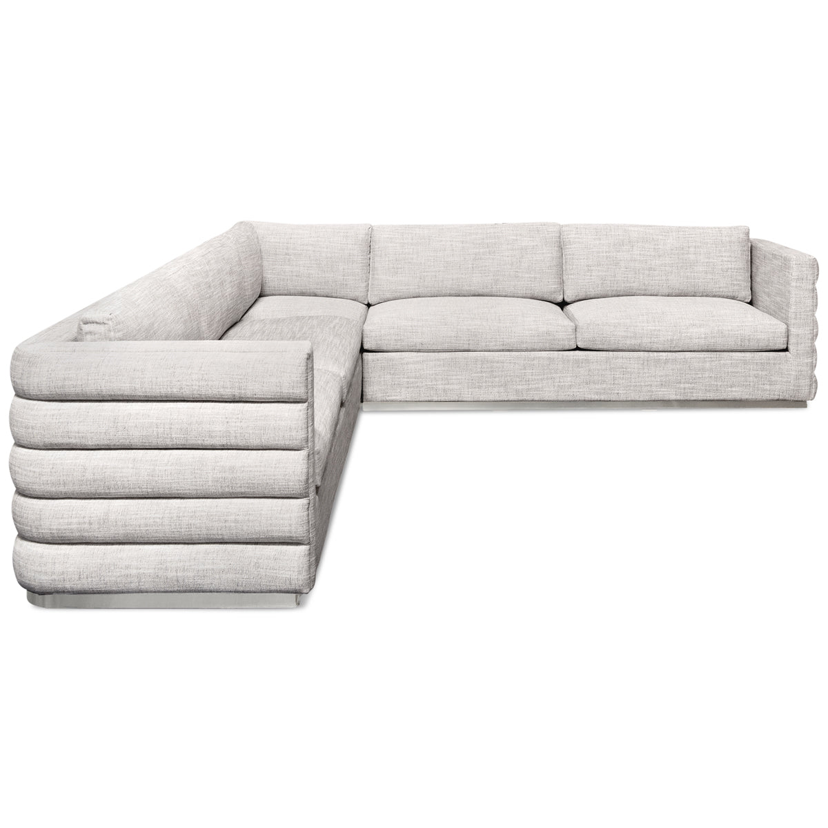Milan Sectional in Linen
