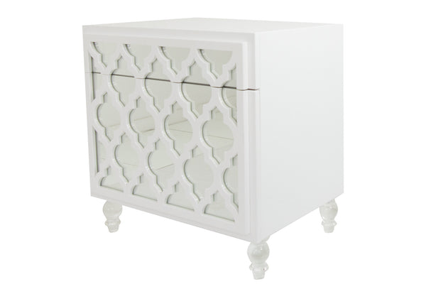 Mirrored Tangier Side Table