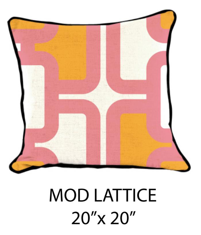 Mod Lattice White/Pink/Orange - ModShop1.com