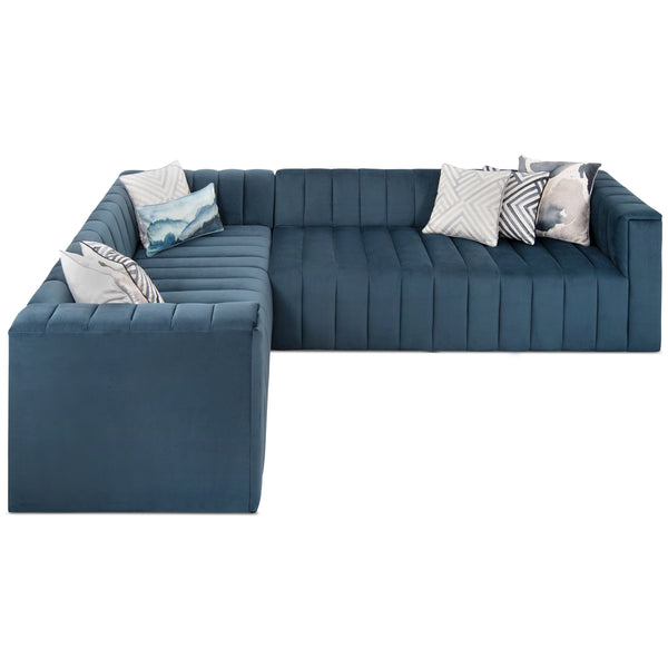 Monaco Sectional in Velvet - ModShop1.com