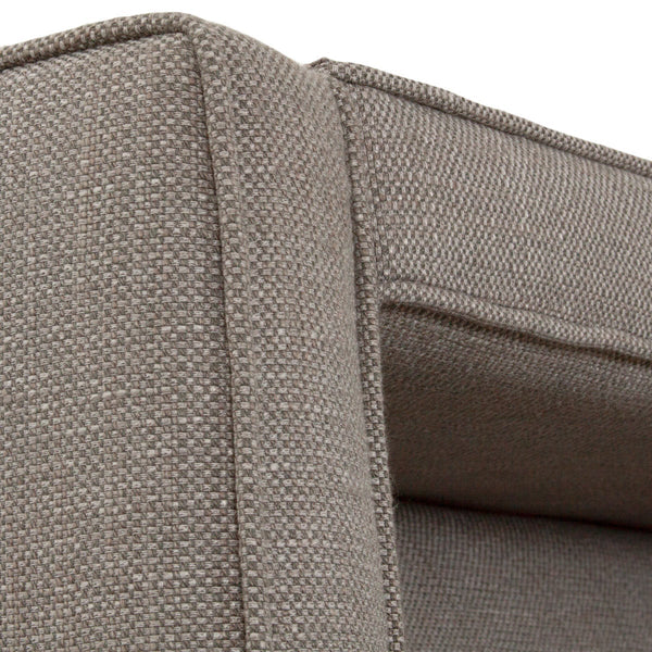 Monaco Wing Chair in Tweed - ModShop1.com