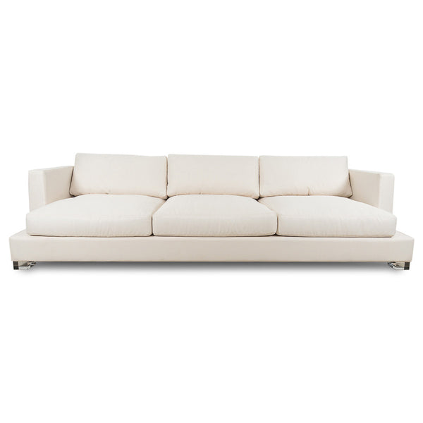 Oliver Sofa in Cream Textured Linen