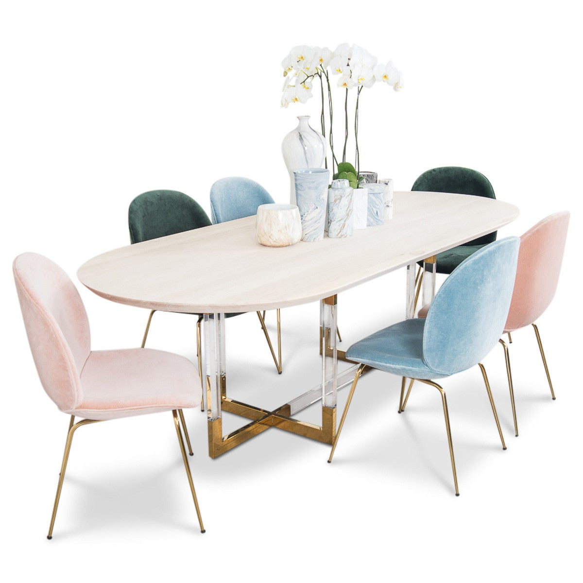 Superb Trousdale 2 Dining Table Oval Table In Light Hickory Modshop Cjindustries Chair Design For Home Cjindustriesco