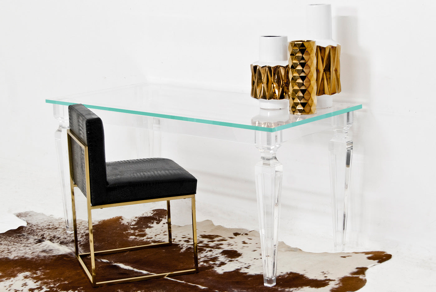Palm Beach Lucite Desk - ModShop1.com