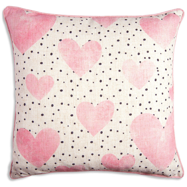 Hearts Blush Pillow - ModShop1.com