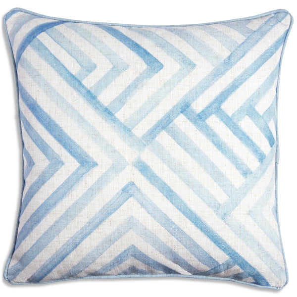 Modern Geometric Watercolor Pillow - ModShop1.com