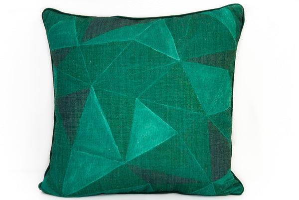 Emerald Geometric diamonds