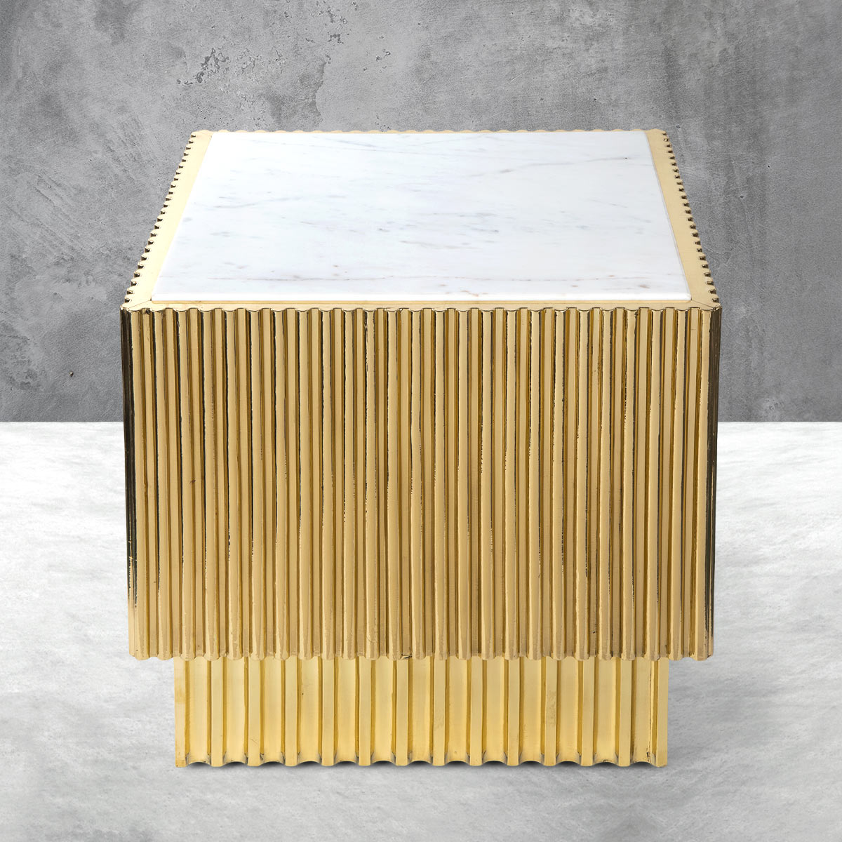 Rippled Side Table