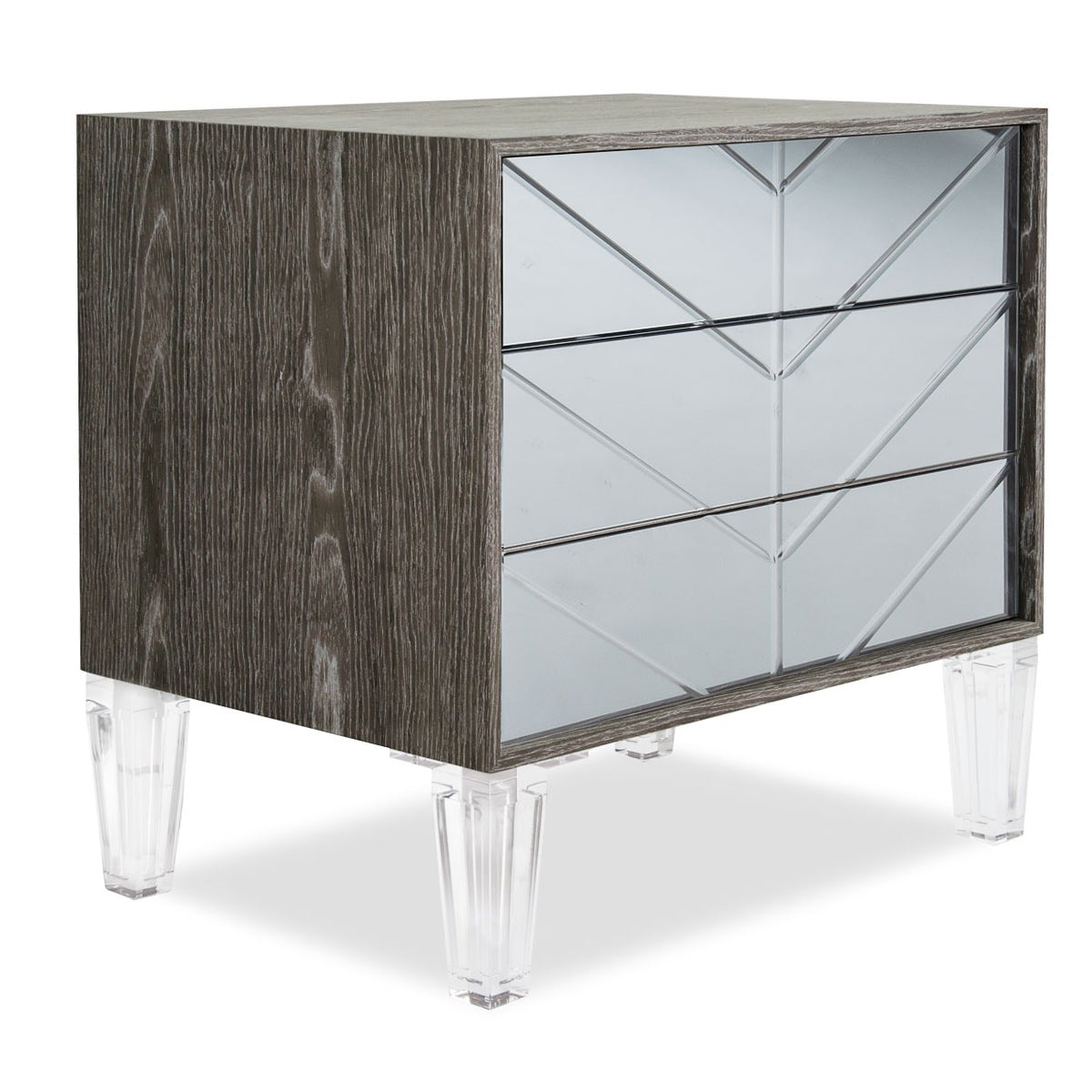 Romeo 3 Drawer Side Table