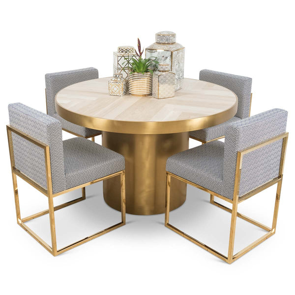 Nice Amalfi 2 Round Dining Table