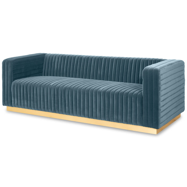 Royal Palms Sofa in Velvet - ModShop1.com
