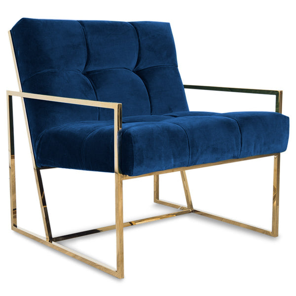 Santorini Chair in Velvet - ModShop1.com