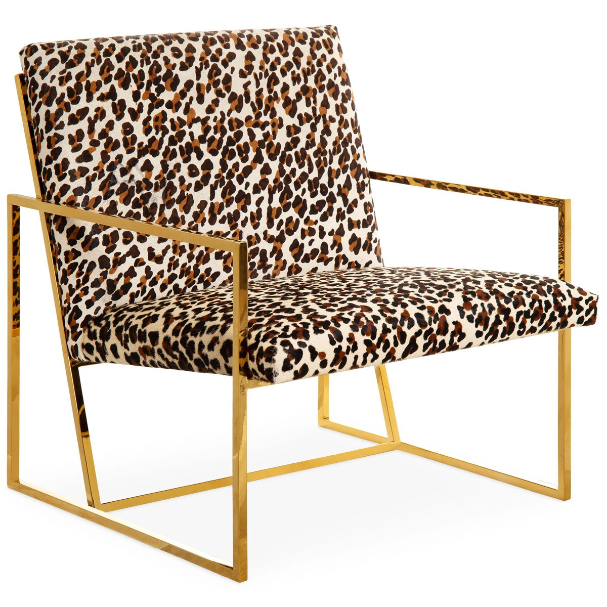 Santorini Chair in Cowhide - ModShop1.com