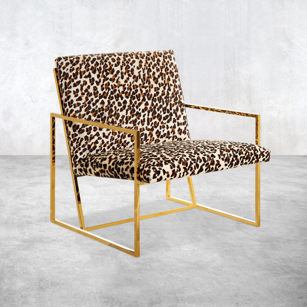 Santorini Chair in Cowhide