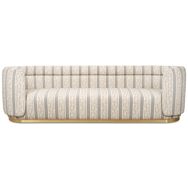 Santorini Sofa in Textured Fabric